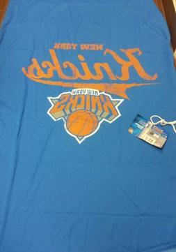 New York Knicks Sweatshirt Throw Blanket