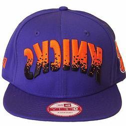 New Era New York Knicks Team Filler Snapback Baseball Cap Ha