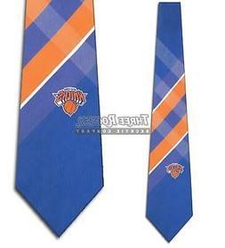 New York Knicks Ties Men's NBA Basketball Necktie Sports Tie