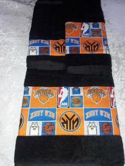 New York Knicks Towel Set Handmade  Great Gift!!!