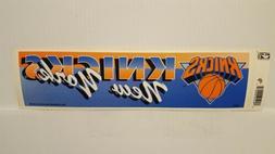 NEW YORK KNICKS  Vintage Team Bumper Sticker  Decal Strip