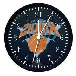 New York Knicks Black Frame Wall Clock Nice For Decor or Gif