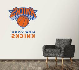New York Knicks Wall Decal Logo Basketball NBA Art Sticker V