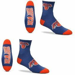 New York Knicks Women's Quarter-Length Socks Two-Pack Set