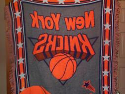 New York Knicks X-Large Blanket Throw 5 ft x 4 ft by Northwe