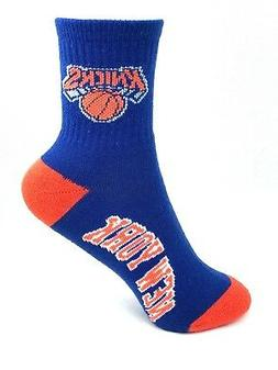 New York Knicks Basketball Royal & Orange Youth Deuce Quarte
