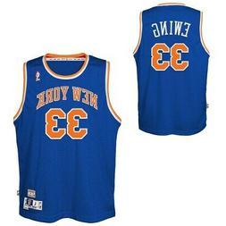 New York Knicks Youth Patrick Ewing NBA Soul Swingman Jersey