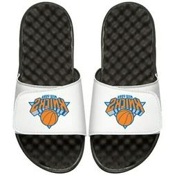 New York Knicks Youth Primary iSlide Sandals - White