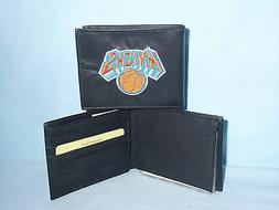 New York NY KNICKS   embroidered  Leather BiFold Wallet    N