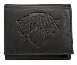 New York NY Knicks NBA Distressed Look Embossed Logo Black L