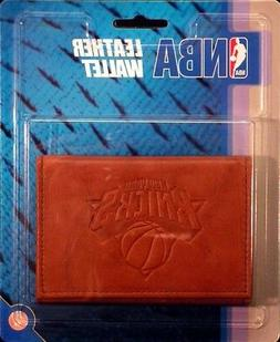 New York NY Knicks NBA Embossed Leather Trifold Wallet FREE