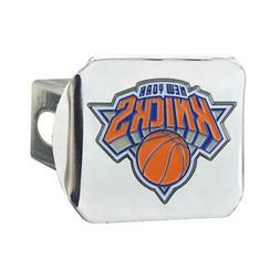 New York NY Knicks Trailer Hitch Chrome Hitch Cover