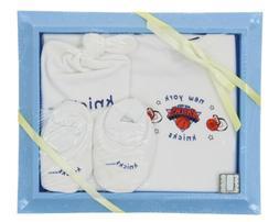 New York Knicks NBA Picture Frame Newborn Gift Set