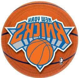"Amscan New York Knicks Round Dessert Plates, 7"", Multicolore"