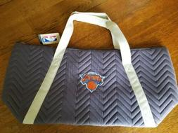 NWT Little Earth New York Knicks Weekender Quilted Bag Duffe