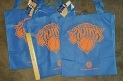 NWT lot of 3 New York Knicks Blue Reusable Tote Shopping Bag