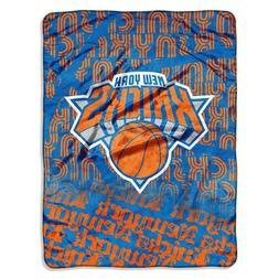 NWT~NBA~ NEW YORK KNICKS~ SUPER PLUSH Soft Fleece Throw Blan