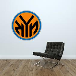 NY Knicks Logo Wall Decal NBA New York Knicks Basketball Dec