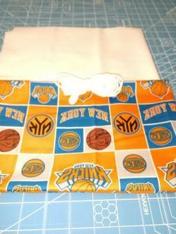 NY New York Knicks NBA Cotton FQ Fabric elastic DIY mask sup