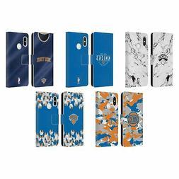 OFFICIAL NBA 2018/19 NEW YORK KNICKS LEATHER BOOK WALLET CAS