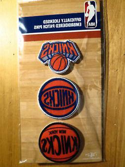 Official Licensed NBA New York Knicks Embroidered Patch Pin