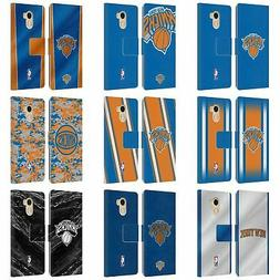 OFFICIAL NBA NEW YORK KNICKS LEATHER BOOK WALLET CASE FOR WI