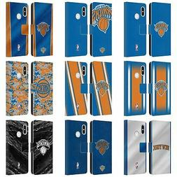 OFFICIAL NBA NEW YORK KNICKS LEATHER BOOK WALLET CASE FOR XI