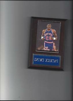 PATRICK EWING PLAQUE NEW YORK KNICKS NY BASKETBALL NBA