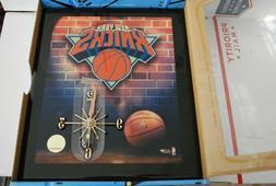 Precision Quartz Wood Resin Wall Clock New York KNICKS NBA L