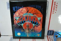 Quartz Movement Wood Resin Wall Clock New York KNICKS NBA Of