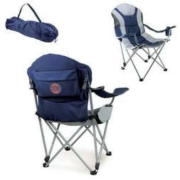 reclining camp chair navy new york knicks