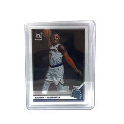 RJ Barrett New York Knicks Rated Rookie Basketball Trading C