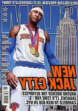 Slam Magazine #162 basketball NEW YORK KNICKS CARMELO ANTHON
