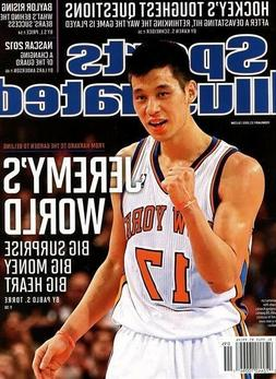 Sports Illustrated Magazine 2/27/2012 basketball New York Kn