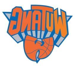 Wu-Tang New York Knicks Logo Sticker Decal Vinyl Car Window