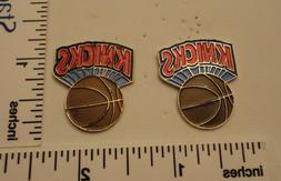 TWO Old 1989 Limited Edition NBA Basketball Pins - New York