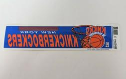 Vintage New York Knicks Basketball Bumper Sticker NBA Knicke