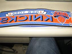 Vintage New York Knicks Bumper Sticker Old School Vintage Ve