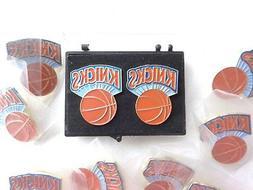 VINTAGE New York Knicks Collectors Pins Set of 10 Pcs. Lot