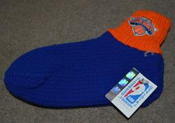 Vtg NWT New York Knicks Knit Slippers Booties Socks Made in